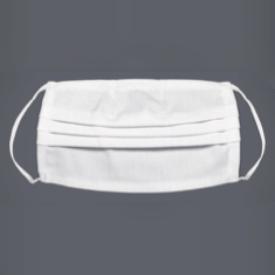 Waschbare Hygiene-Maske weiss