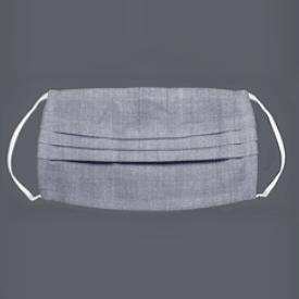 Waschbare Hygiene-Maske grau