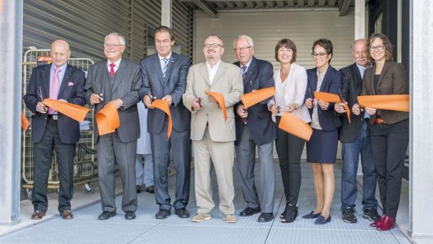 Unternehmen weiht Erweiterungsbau für Hotel-Textilien ein
