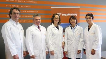 Landrat Peter Dreier besuchte Urzinger Textilmanagement